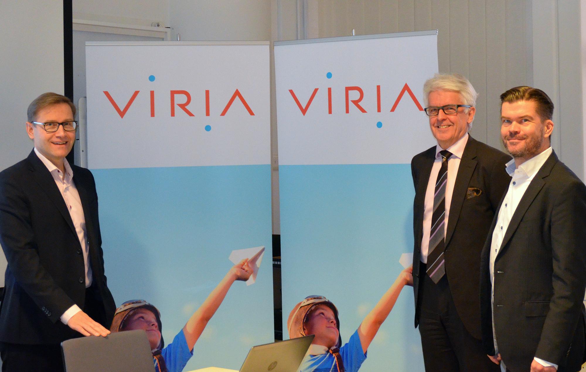 Viria siktar på att bli en föregångare inom säkerhets- och nätlösningar samt informationsadministration