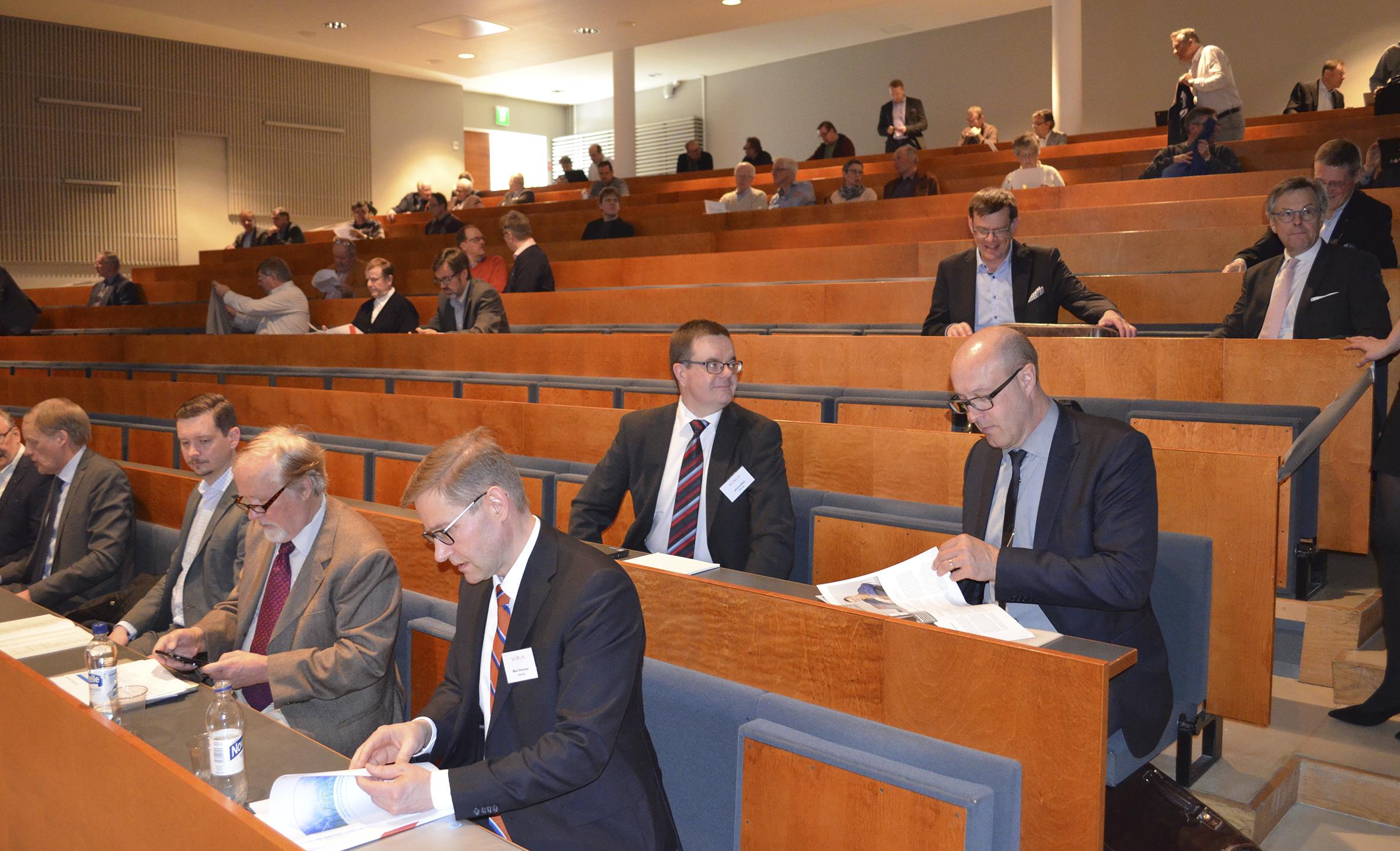 Beslut på Virias ordinarie bolagsstämma