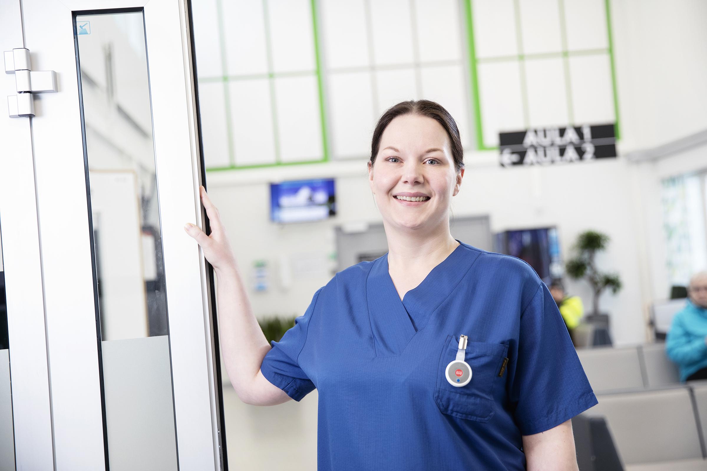 Reaaliaikaisen paikkatiedon hyödyntäminen sujuvoittaa sairaala-arkea