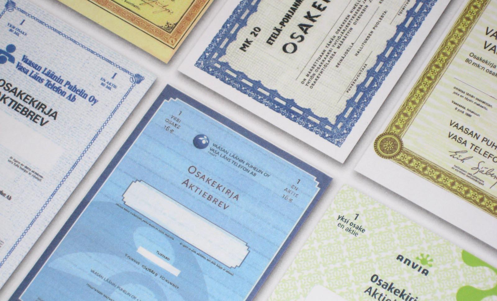 Många österbottniska hem har ett undangömt papper vars värde är över 2000 euro